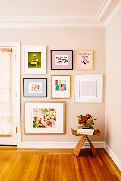 http://www.ruemag.com/decorating/create-the-perfect-gallery-wall